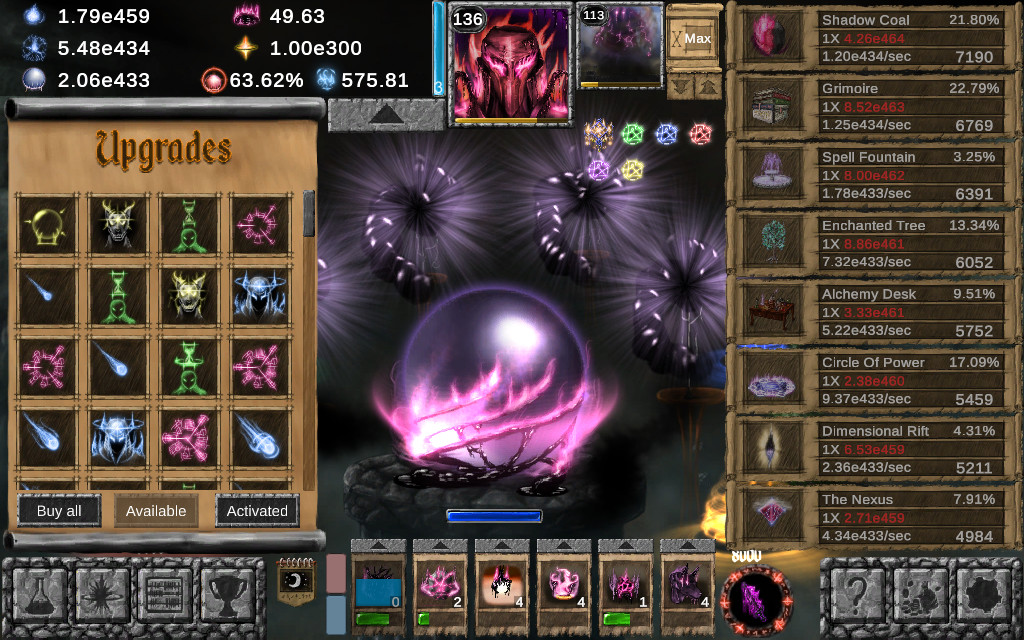 Game Cheats: Idle Wizard   MegaGames