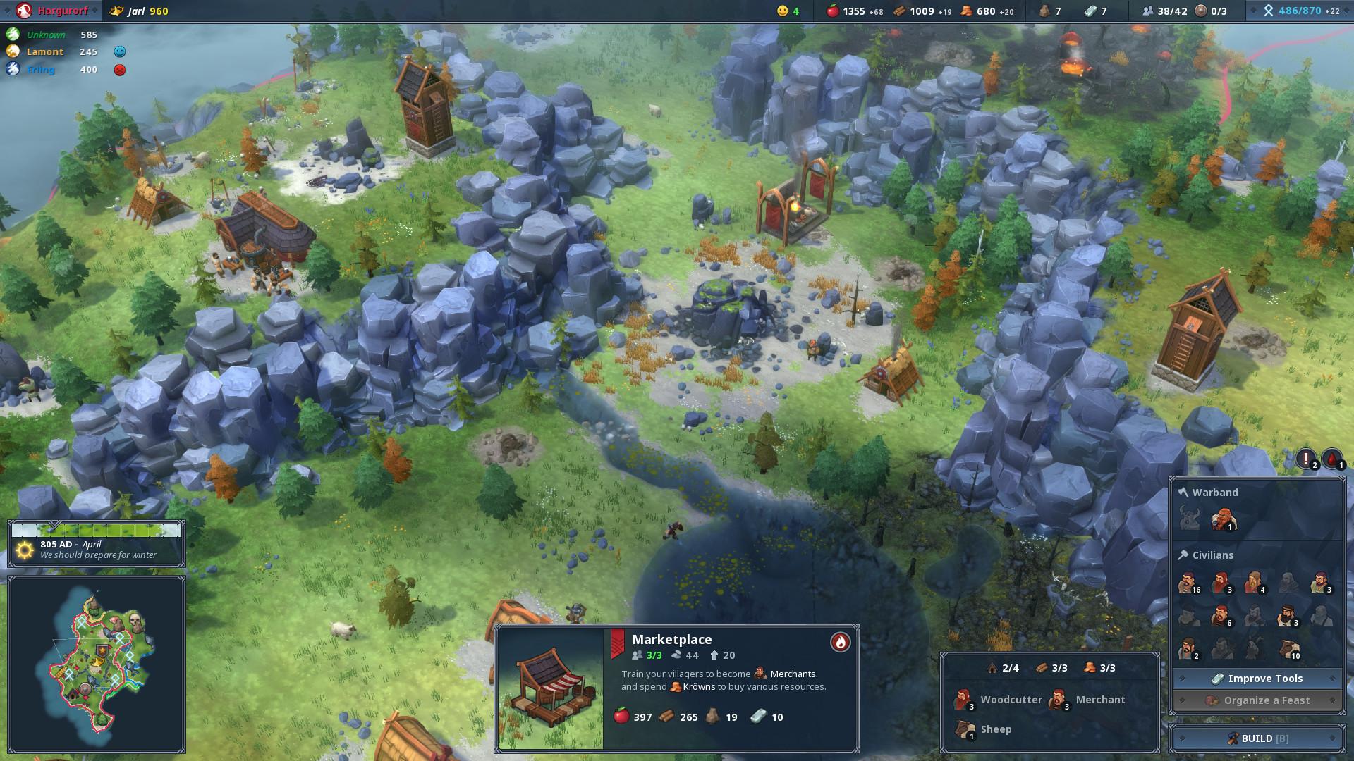 Game Trainers Northgard Relics V1 8 0 14182 4 Trainer Abolfazl K Megagames