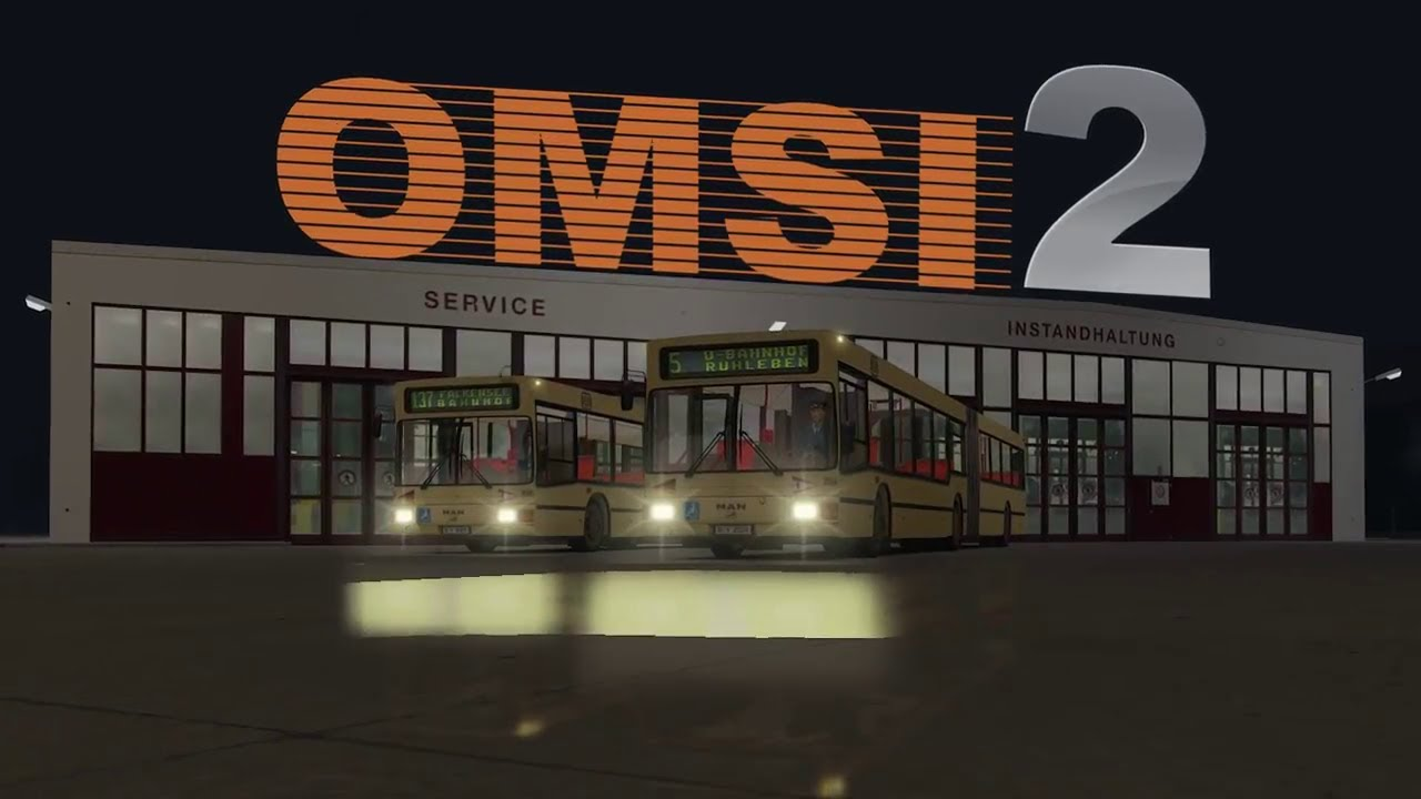 OMSI 2 Steam Edition (ALL DLC) - Download Game PC Iso New Free