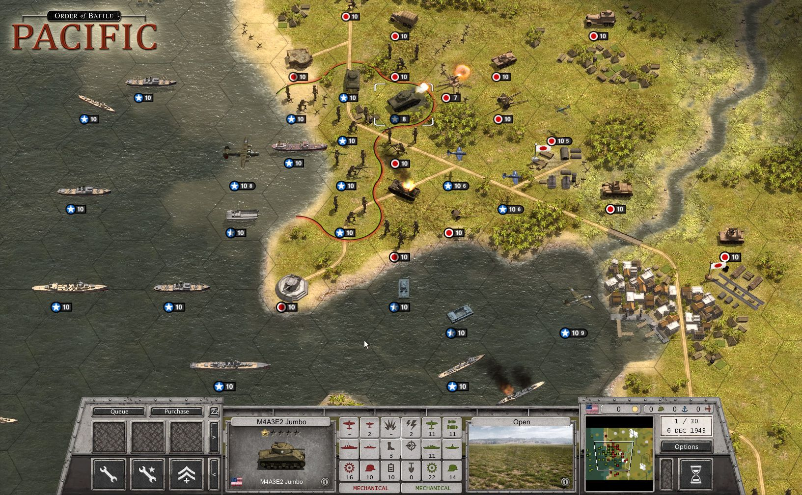 Game Fix / Crack: Order of Battle: Pacific v1.0 All No-DVD