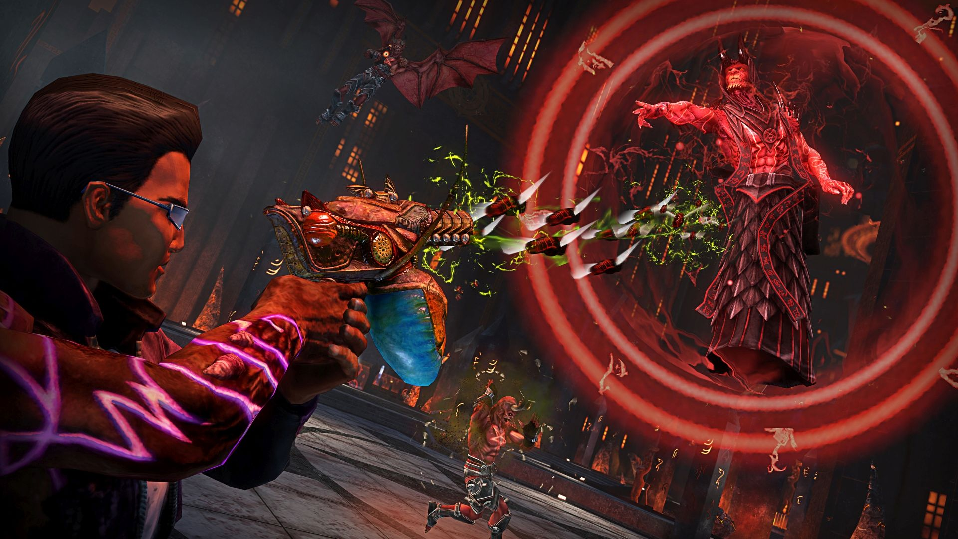 Video Trailer Saints Row Gat Out Of Hell Seven Deadly