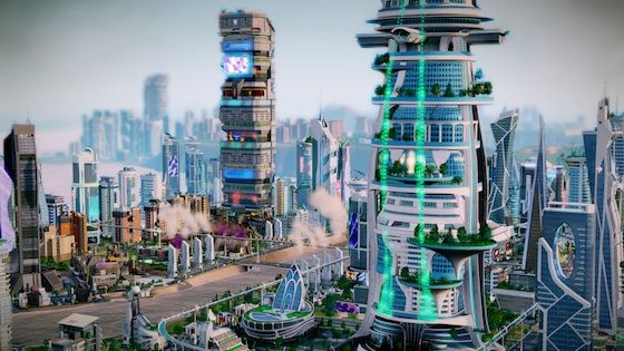 Simcity (2013) buildings simtropolis.
