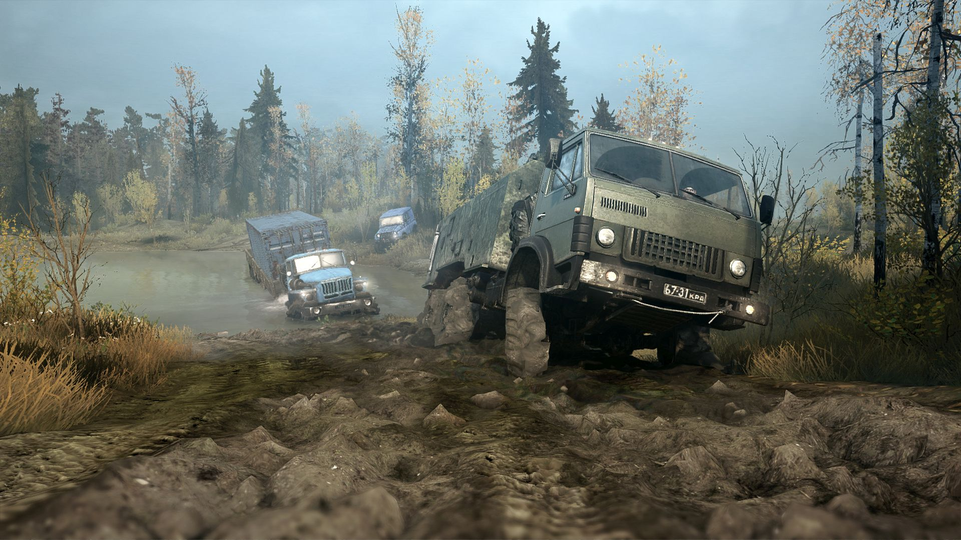 Game Fix / Crack: Spintires: MudRunner v02112K17 All No-DVD