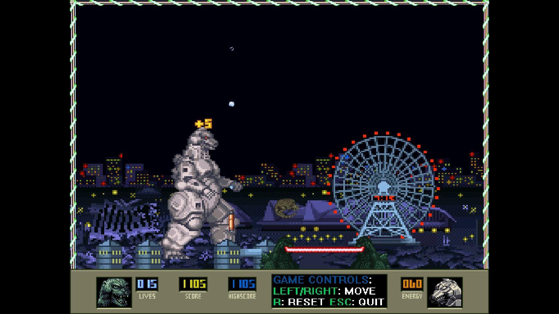 Freeware / Freegame: Super Godzilla Breakout Free Full