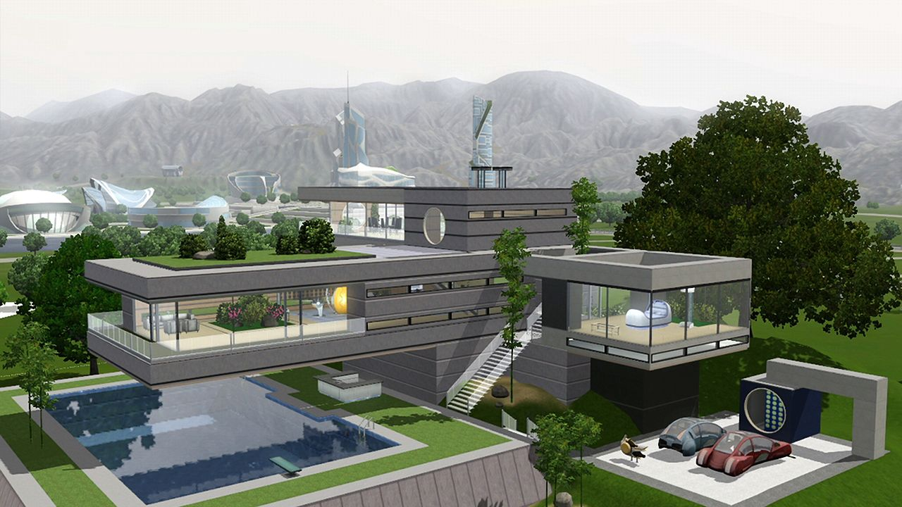Games The Sims 3 Into The Future Megagames
