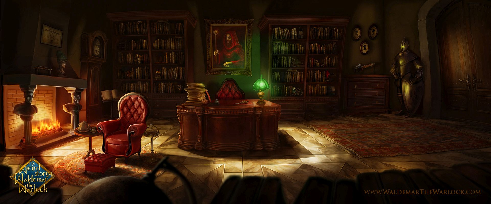 Demos Pc The Weird Story Of Waldemar The Warlock Demo