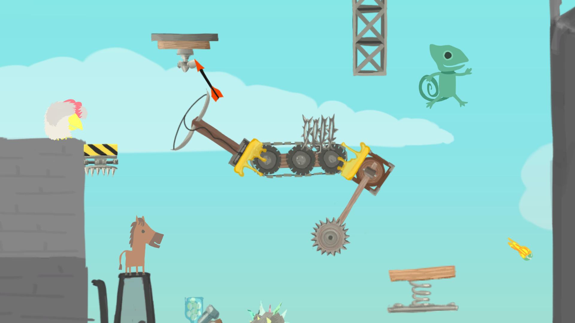 Скачать ultimate chicken horse 1. 0. 55 для android.