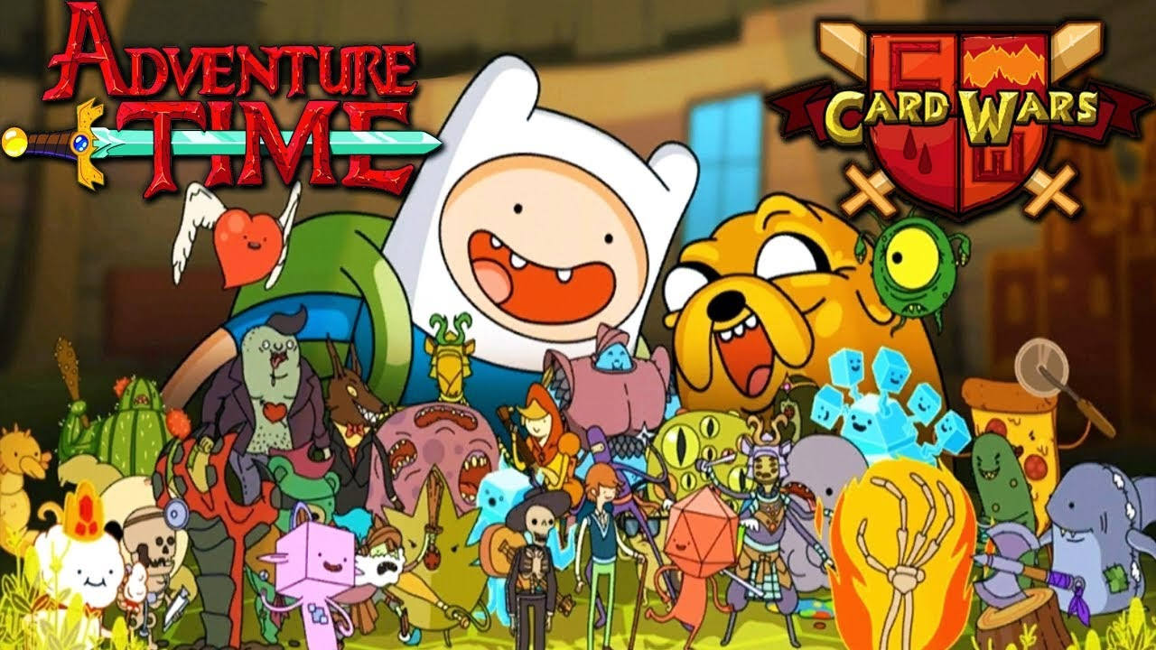 card wars adventure time - Android Time Card