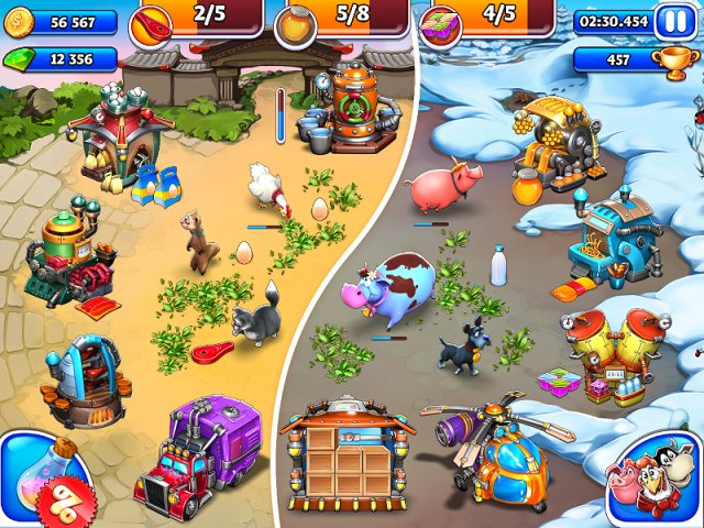 Game Trainers: Farm Frenzy and Crazy Bear Island (+7 Trainer