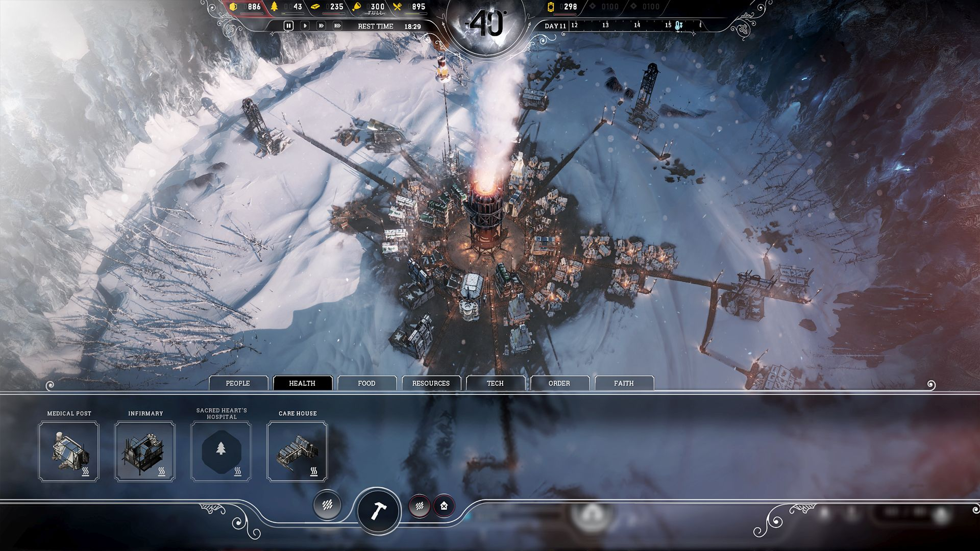 Frostpunk 2018 Game Wallpapers: Game Cheats: Frostpunk