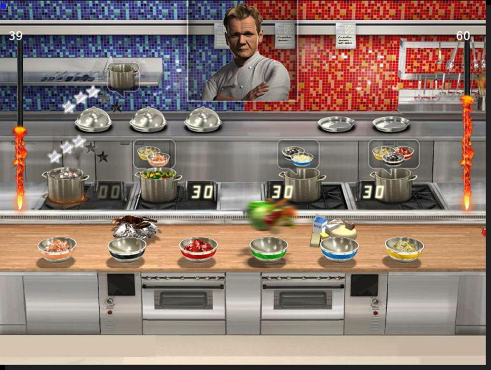 Hell S Kitchen Wii