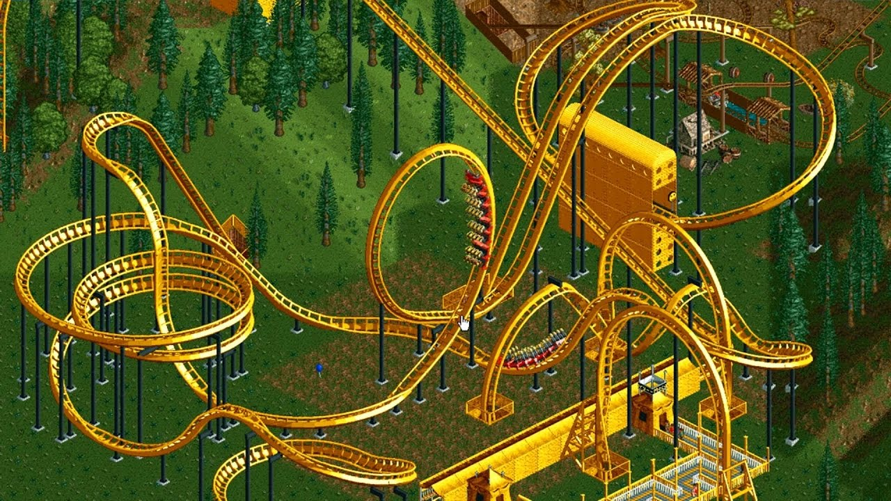 Games: RollerCoaster Tycoon Classic | MegaGames