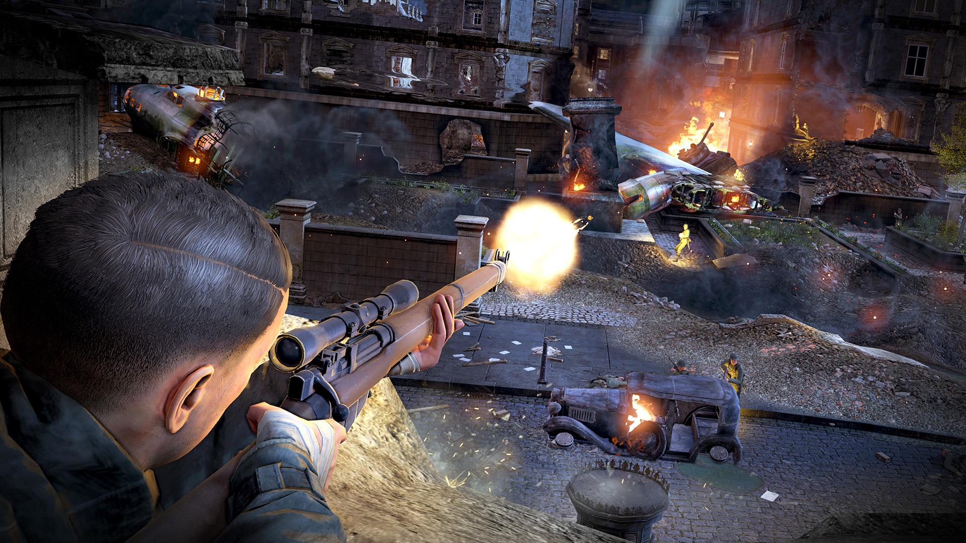 sniper elite 3 console commands pc