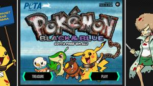 Pokemon Black and Blue