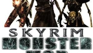 Skyrim Monster Mod v13 Full