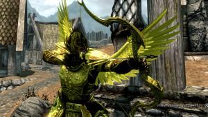 Gold armor HD