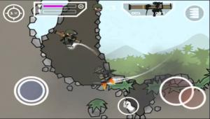 DOODLE ARMY 2 IOS CHEATS MINI MILITIA